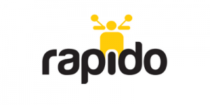 Rapido Client's Logo - Bombay Locale Client. India's largest bike taxi service