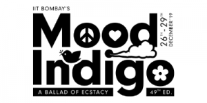 Mood Indigo Client's Logo- Bombay Locale. Asia's largest college cultural festival of IIT Bombay.